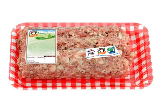 CHAIR A SAUCISSE PERSILLEE (500G)